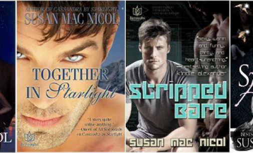Writing, Fangirling, Book Marketing, M/M Romance and More with Susan Mac Nicol