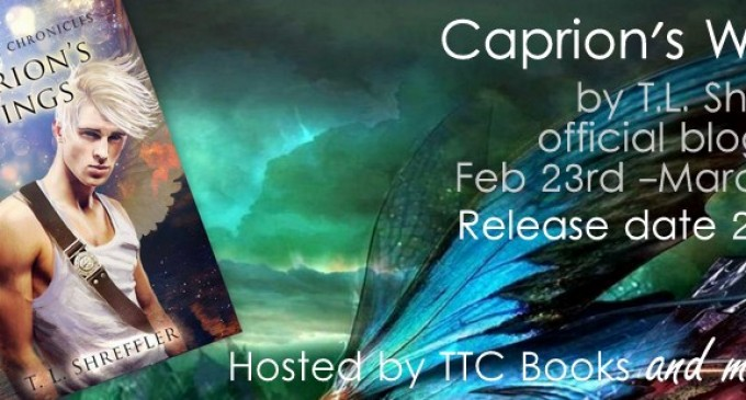 Blog Tour Stop: Caprion's Wings by T.L. Shreffler