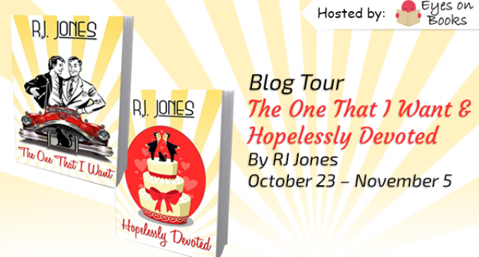 Blog Tour – The One That I Want & Hopelessly Devoted by RJ Jones
