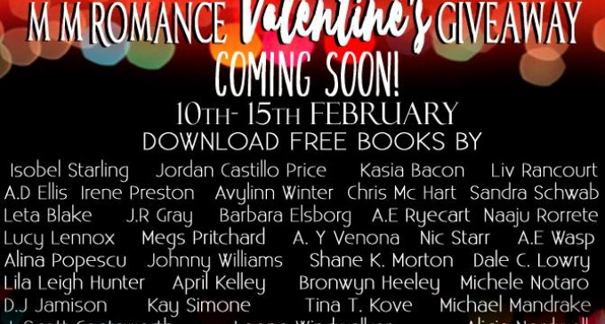M/M Romance Valentine's Giveaway 10th -15th February