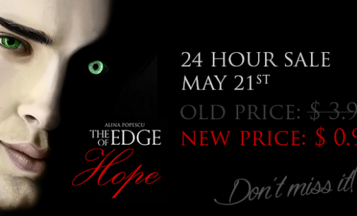 Name's Day Price Slash for The Edge of Hope