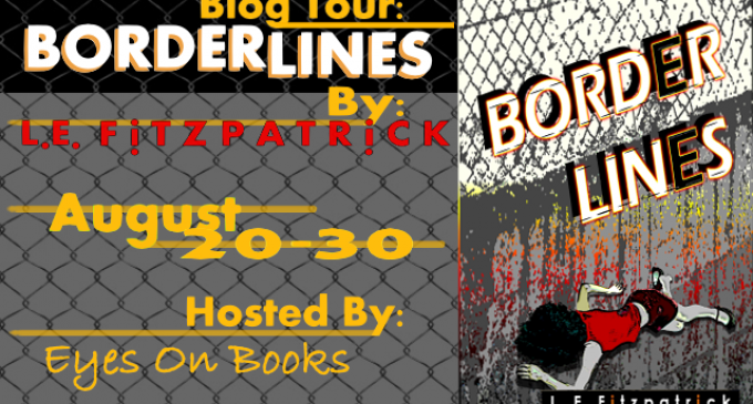 Blog Tour #Review and #Giveaway: Border Lines by LE Fitzpatrick