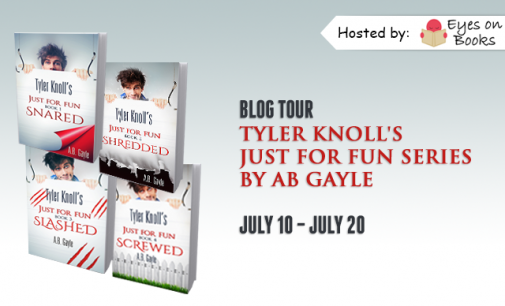 Blog Tour Excerpt and #Giveaway – Tyler Knoll's Just for Fun by A.B. Gayle