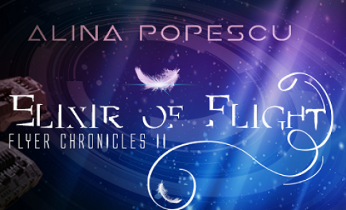 Cover Reveal: Elixir of Flight (Flyer Chronicles, Book Two) #Gay #ScienceFiction
